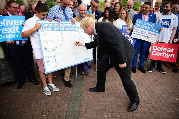 Colchester「Jeremy Hunt And Boris Johnson Hold Hustings In Colchester」:写真・画像(12)[壁紙.com]