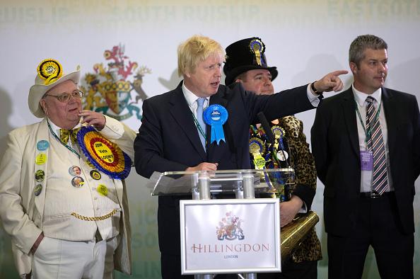 Human Role「Boris Johnson Attends His Constituency Declaration」:写真・画像(6)[壁紙.com]