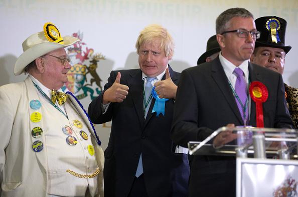 Human Role「Boris Johnson Attends His Constituency Declaration」:写真・画像(5)[壁紙.com]