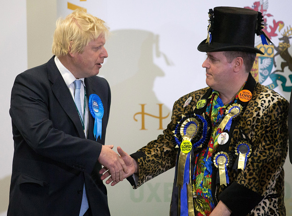 Human Role「Boris Johnson Attends His Constituency Declaration」:写真・画像(4)[壁紙.com]