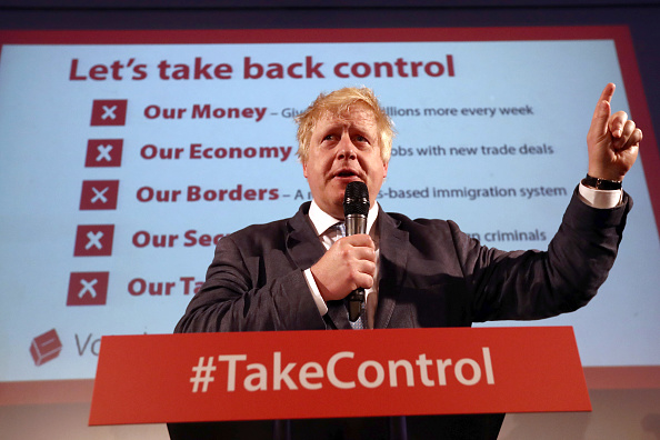 Brexit「Boris Johnson Attends A Vote Leave Rally In London」:写真・画像(16)[壁紙.com]