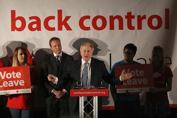 York - Yorkshire「Boris Johnson Delivers Stump Speech For The Vote Leave Referendum Campaign」:写真・画像(3)[壁紙.com]