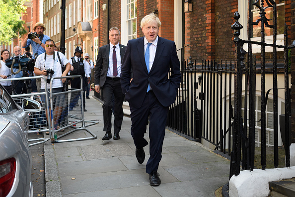 Boris Johnson「The Conservative Party Announces Their New Leader And Prime Minister」:写真・画像(2)[壁紙.com]