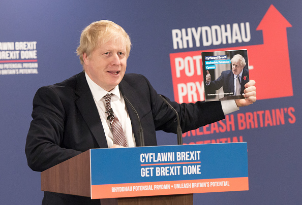 Sports Track「Britain's PM Johnson Launches Welsh Manifesto」:写真・画像(8)[壁紙.com]