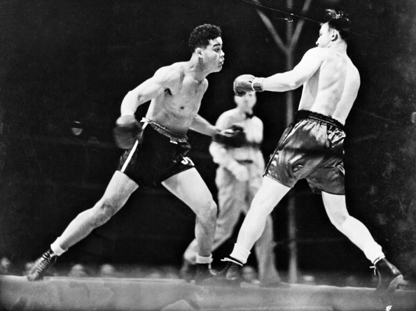 Boxer Joe Louis「Joe Louis Sieg über Jack Sharkey」:写真・画像(7)[壁紙.com]