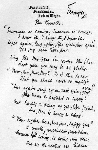 Poetry- Literature「'Throstle'」:写真・画像(16)[壁紙.com]
