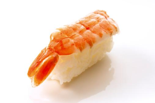 Sushi「Nigiri-Sushi with boiled scampi」:スマホ壁紙(1)