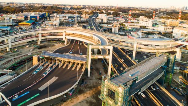 Intertwining highway.:スマホ壁紙(壁紙.com)