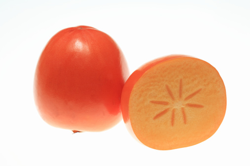 柿「Kaki, persimmon fruit」:スマホ壁紙(1)