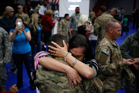 Fort Knox「Soliders From Army's 3rd Brigade Return Home From Afghanistan To Fort Knox」:写真・画像(8)[壁紙.com]