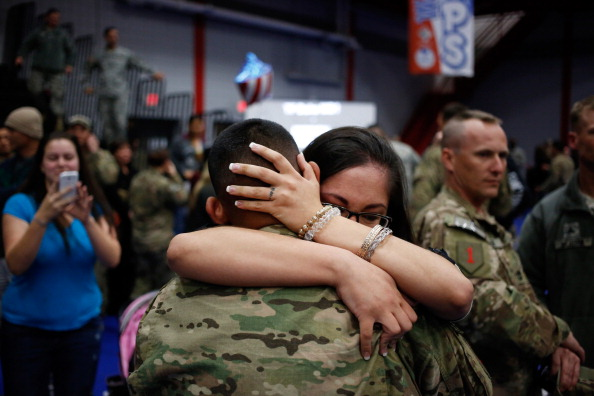 Fort Knox「Soliders From Army's 3rd Brigade Return Home From Afghanistan To Fort Knox」:写真・画像(9)[壁紙.com]