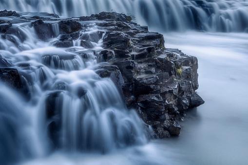 Freshwater「Gulfoss Waterfall, Iceland」:スマホ壁紙(8)