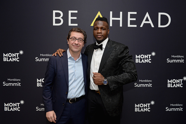 Wearable Computer「Montblanc Unveils First-Ever Smartwatch, The Summit Collection, With Atlanta Falcon Mohamed Sanu」:写真・画像(14)[壁紙.com]