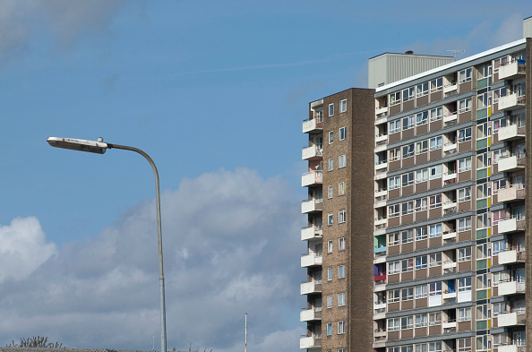 skyscraper「Council estate in Manchester, England」:写真・画像(6)[壁紙.com]