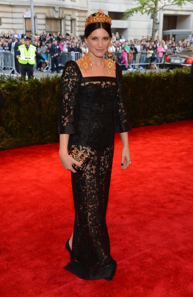 """Larry Busacca「""""PUNK: Chaos To Couture"""" Costume Institute Gala」:写真・画像(19)[壁紙.com]"""