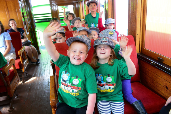 Lisa Lake「Day Out With Thomas: The Thrill Of The Ride Tour 2014 Goes Green As Thomas The Tank Engine's Best Friend Percy Makes North American Debut」:写真・画像(14)[壁紙.com]