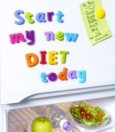 Effort「Start new diet today fridge magnets.」:スマホ壁紙(6)