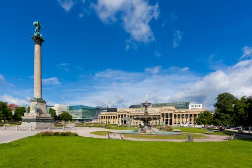 Town Square「Schlossplatz Square in Stuttgart, Germany」:スマホ壁紙(15)