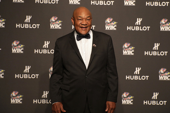 "George Foreman「Hublot x WBC ""Night of Champions"" Gala」:写真・画像(14)[壁紙.com]"