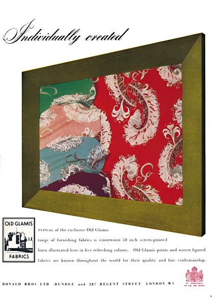 Model Home「Individually Created - Old Glamis Fabrics Advertisement」:写真・画像(19)[壁紙.com]