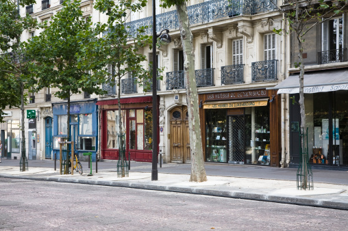French Culture「Rue des Medicis, Paris, France」:スマホ壁紙(18)