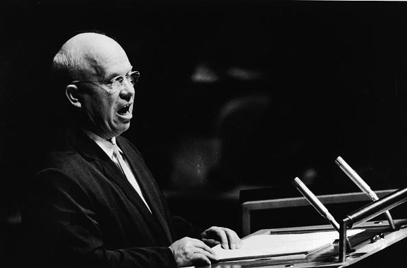 Patriotism「Nikita Khrushchev Addresses UN 」:写真・画像(10)[壁紙.com]