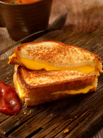 Dipping Sauce「Grilled Cheese Sandwich With Tomato Soup」:スマホ壁紙(15)