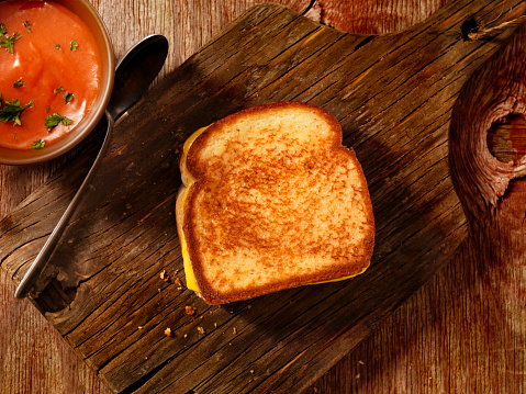 Cheese Sandwich「Grilled Cheese Sandwich with Tomato Soup」:スマホ壁紙(15)