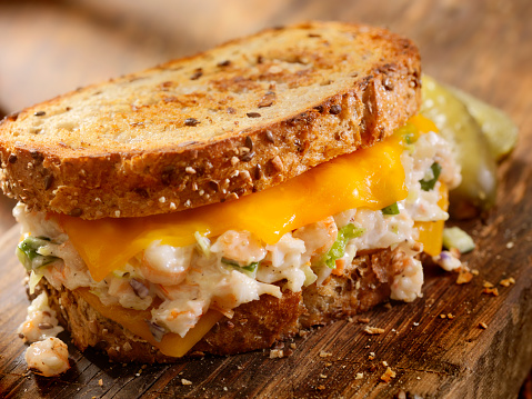 Crab - Seafood「Grilled Cheese Seafood Salad Sandwich」:スマホ壁紙(17)