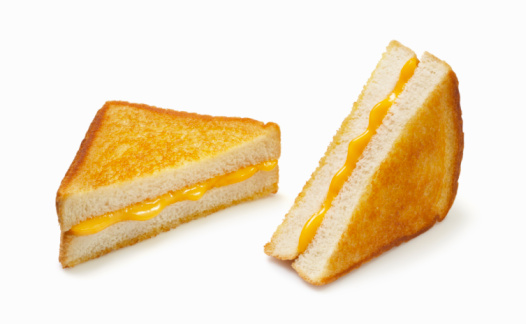 Toasted Sandwich「Grilled Cheese on white」:スマホ壁紙(0)