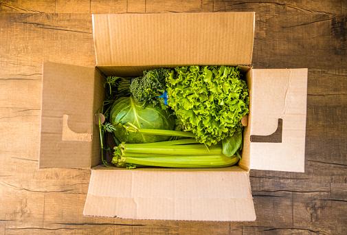 Rich Fury「Grocery delivery in open box」:スマホ壁紙(3)