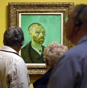 Bill Greenblatt「Van Gogh St. Louis Exhibit」:写真・画像(13)[壁紙.com]