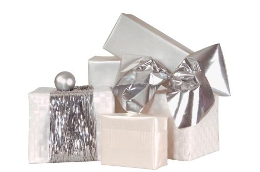 プレゼント「Stack of Christmas gifts, close-up」:スマホ壁紙(18)