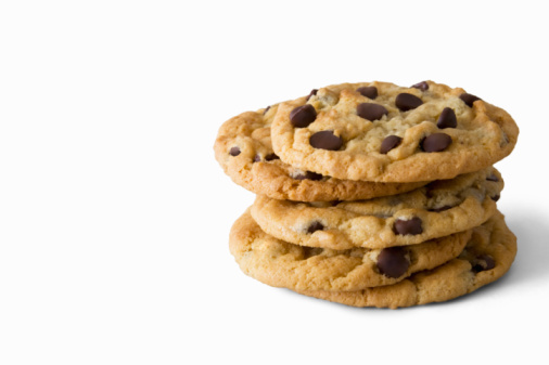 Part of a Series「Stack of chocolate chip cookies」:スマホ壁紙(12)