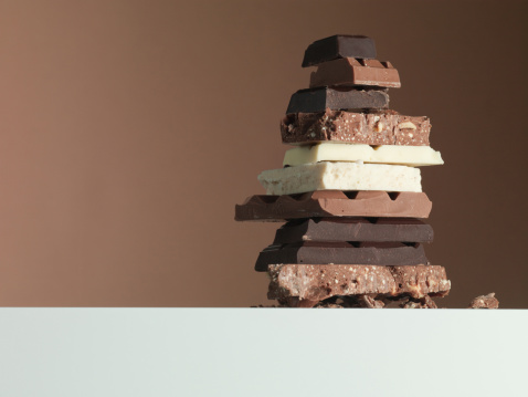 White Chocolate「Stack of chocolate bars」:スマホ壁紙(17)