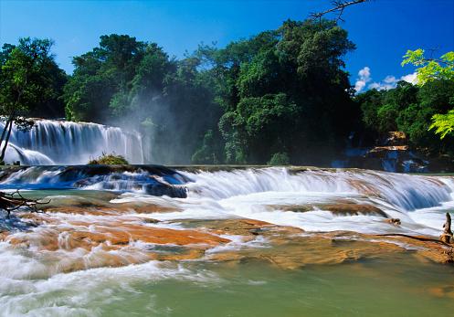 Agua Azul Cascades「Agua Azul Waterfalls in Chiapas」:スマホ壁紙(5)