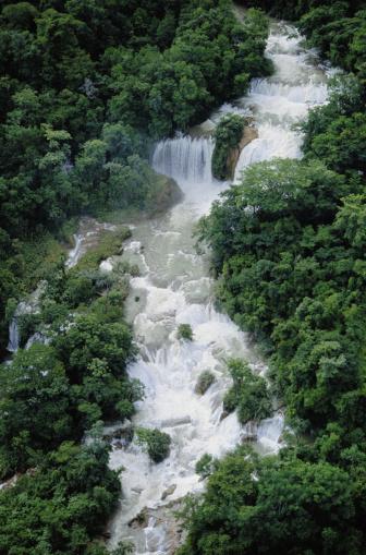 Agua Azul Cascades「Agua Azul Waterfalls, Chiapas」:スマホ壁紙(2)