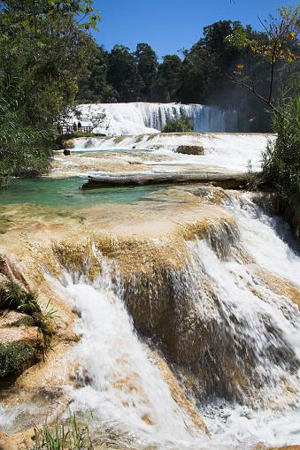 Agua Azul Cascades「Agua Azul waterfall」:スマホ壁紙(4)