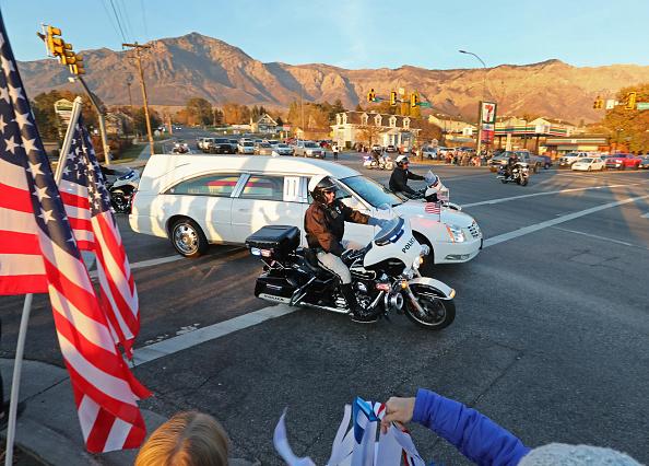George Frey「North Ogden, Utah Mayor And National Guard Maj. Brent Taylor's Body Returns To Utah」:写真・画像(14)[壁紙.com]
