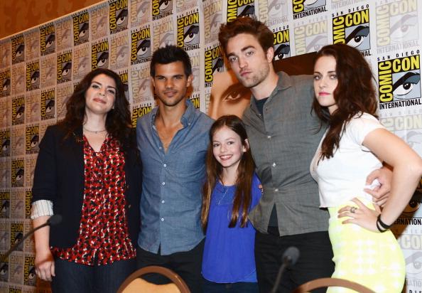 "Comic con「""The Twilight Saga: Breaking Dawn - Part 2"" At San Diego Comic-Con 2012」:写真・画像(9)[壁紙.com]"
