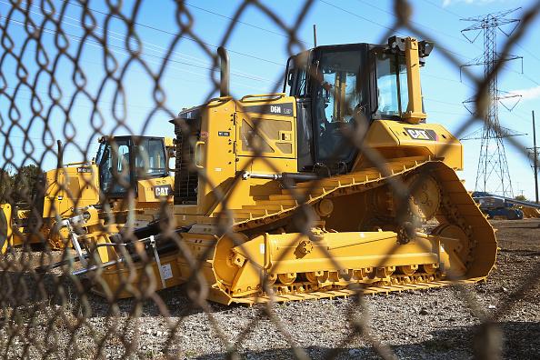 Gear「Caterpillar Announces Q3 Earnings As Demands For Machinery Remain Weak」:写真・画像(8)[壁紙.com]