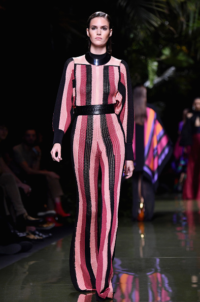 既製服「Balmain : Runway - Paris Fashion Week Womenswear Spring/Summer 2017」:写真・画像(16)[壁紙.com]
