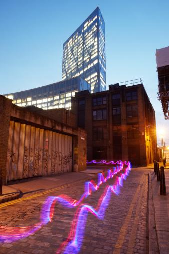 Fiber「Light trail in city.」:スマホ壁紙(9)