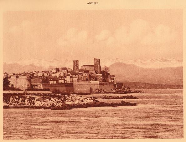 Sepia Toned「The Alps Ridge And Antibes」:写真・画像(6)[壁紙.com]