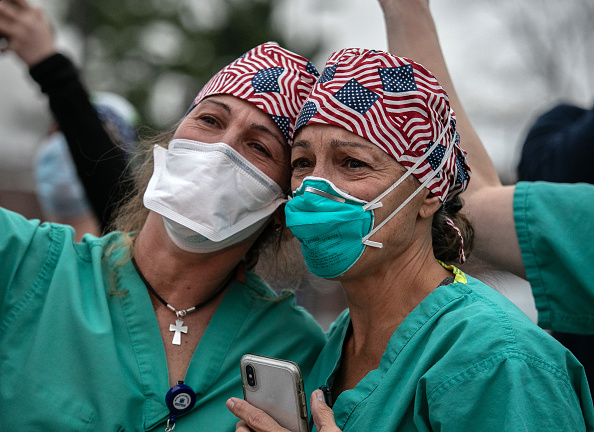 USA「Tri-State EMS Workers Confront Growing Number Of Coronavirus Cases」:写真・画像(9)[壁紙.com]