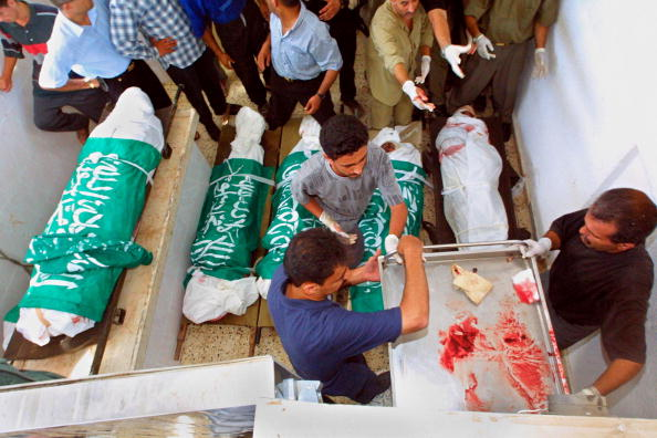 Rafah「Hamas Activists Killed in Helicopter Attack」:写真・画像(4)[壁紙.com]