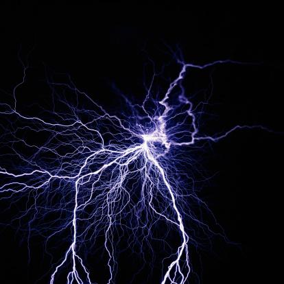 雷「Lightning」:スマホ壁紙(5)