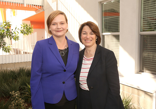 Jesse Grant「Community Corp Discusses Affordable Housing Crisis with Presidential Candidate Amy Klobuchar at New Development in Santa Monica」:写真・画像(12)[壁紙.com]