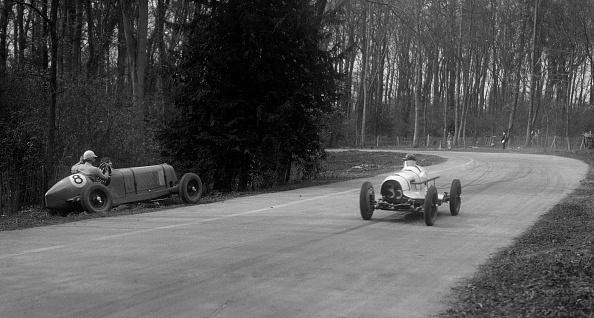 Misfortune「Hector Dobbs Riley Dobbs offset special passing Raymond Mays' crashed ERA, Donington Park, 1935」:写真・画像(1)[壁紙.com]