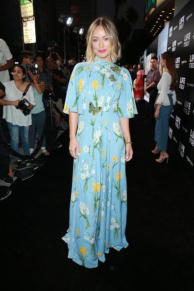 "Floral Pattern Dress「Premiere Of Amazon Studios' ""Life Itself"" - Red Carpet」:写真・画像(3)[壁紙.com]"